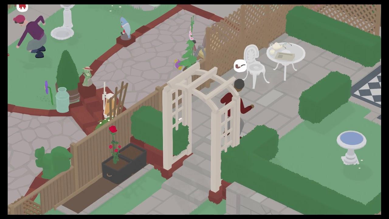 Untitled Goose Game How To Complete Back Garden All Tasks Youtube Backyard garden escape walkthrough