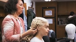 How Emilia Clarke prepares her hair as Daenerys
