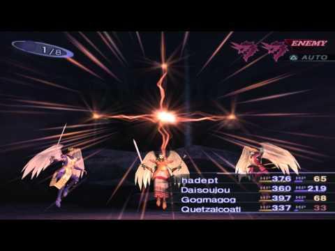 Shin Megami Tensei III: Nocturne Gameplay Sample HD 60FPS PCSX2