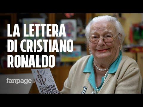 'Mi ha scritto Cristiano Ronaldo': la storia di nonna Lucia, tifosa di 97 anni