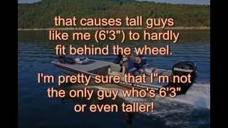 Tracker Bass Boats driver seat problem