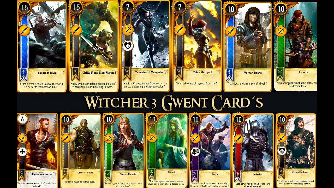 Gwent card locations the witcher 3 - Witcher 3 Gwent Cards Velen The Herbalist And Seven Cats Inn 1 Imlerith Arachas Behemoth