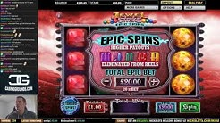 First Epic Spin on Jewel Strike Slot - BIG WIN!