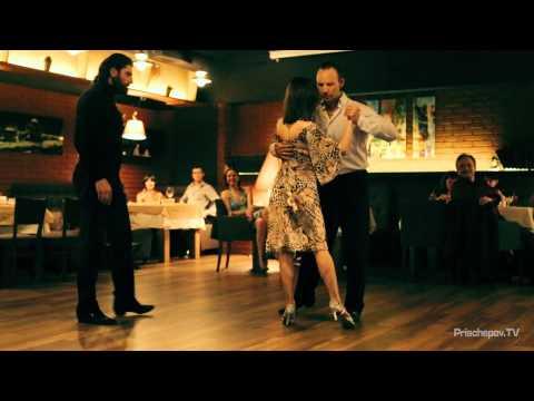 Татьяна Даньшина - танец именинницы,  Prischepov TV - Tango Channel