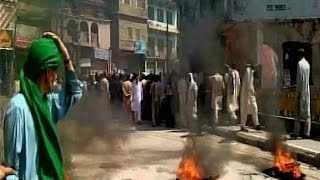 Protests in Pakistan Over Nawaz Sharifs Rigged Elections