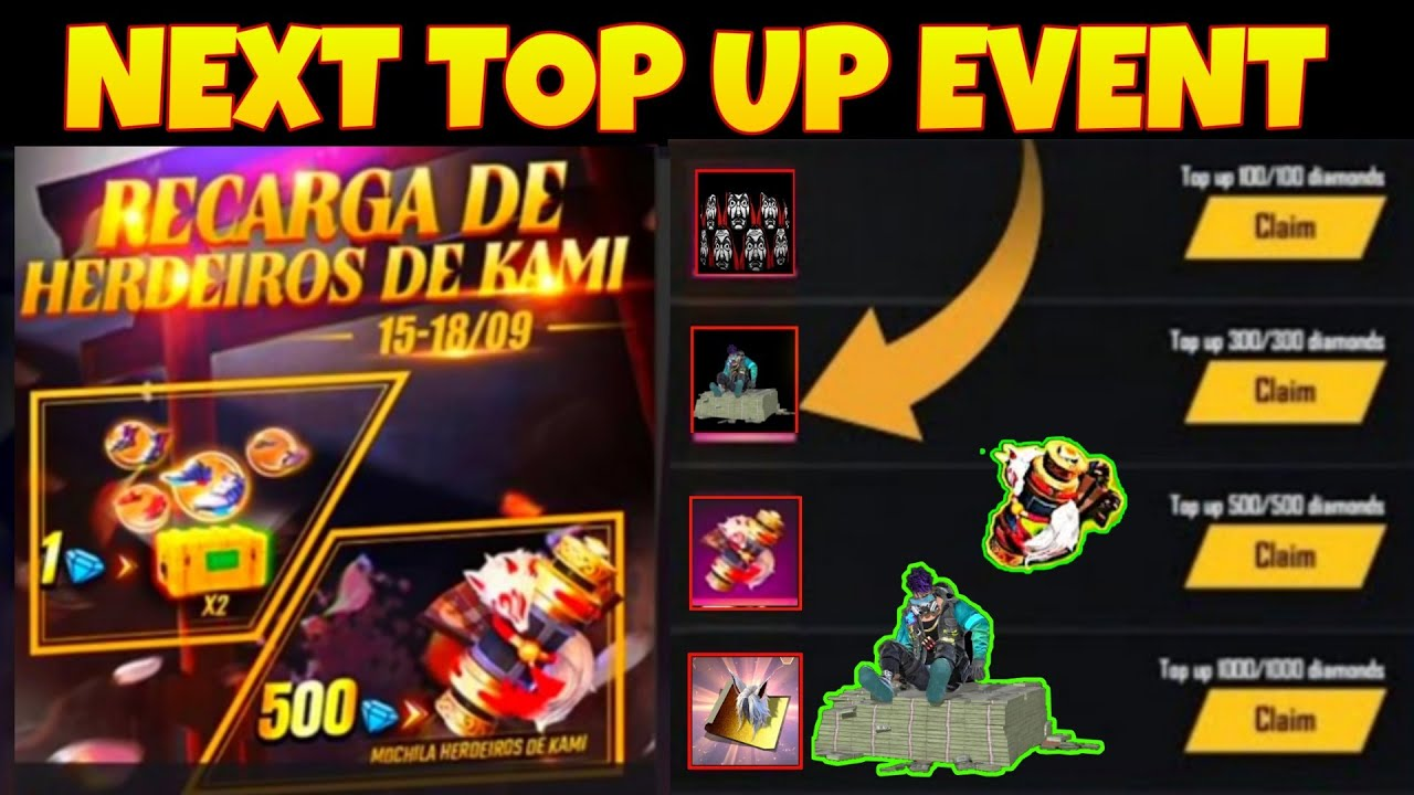 FREE FIRE NEXT TOP UP EVENT | NEW TOP UP EVENT | UPCOMING TOP UP | Mr Ashis | FREE FIRE NEW EVENT
