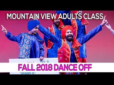 Mountain View Adults Class - 2018 Fall Dance Off