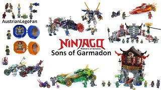 All Lego Ninjago Sons of Garmadon Sets Winter 2017 / 2018   Lego Speed Build Review