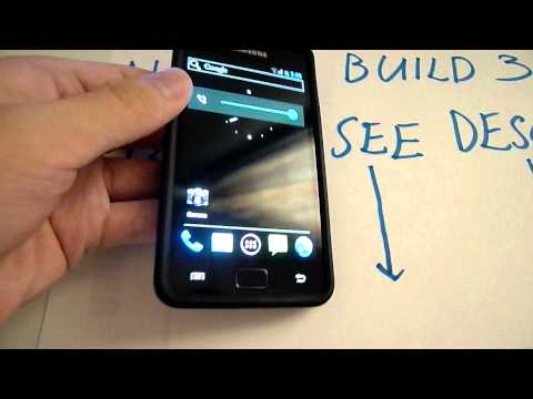 Android 4.0.1 ICS Alpha-7 Build 3 On Galaxy SII