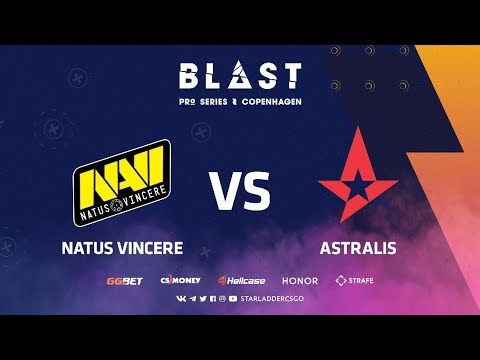 [RU] Natus Vincere vs Astralis | Stand-off | BLAST Pro Series: Copenhagen 2019