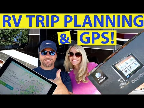 RV Trip Planning | RV GPS | Full Time RV | Changing Lanes!
