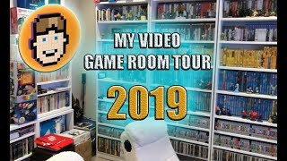 VIDEO GAME ROOM Tour 2019!  |  The Layman Video Gamer