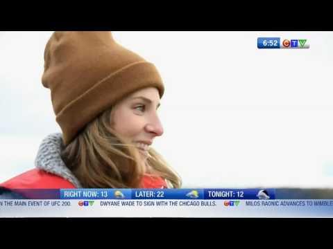 CTV Regina July 7 Free Fishing   Learn to fish Nat Fishing Week