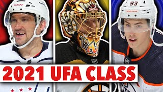 The 2021 UFA Class Is EXTREMELY Interesting! Ask Me Anything #7