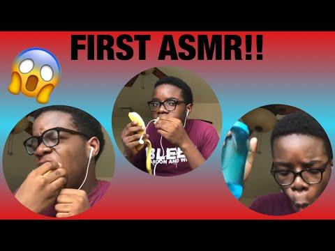FIRST ASMR | FUNNY | JOLLOF