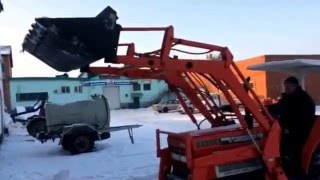 Японский минитрактор Kubota 3202 FL - kotamoto.ru(мини трактор Kubota L3202 Front Loader c КУН ( с ковшом) производства Япония. родной пробег. фреза в комплекте. мощность..., 2015-12-28T13:26:25.000Z)