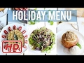 3-Course Vegan Holiday Menu | HEALTHY VEGAN RECIPES W/Healthy Grocery Girl