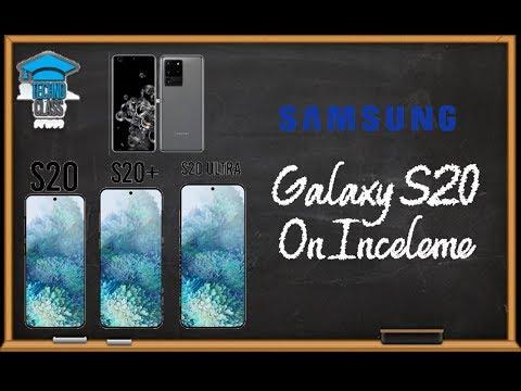 Galaxy S20 Ultra ön inceleme - 108 MP ile 100x Zoom