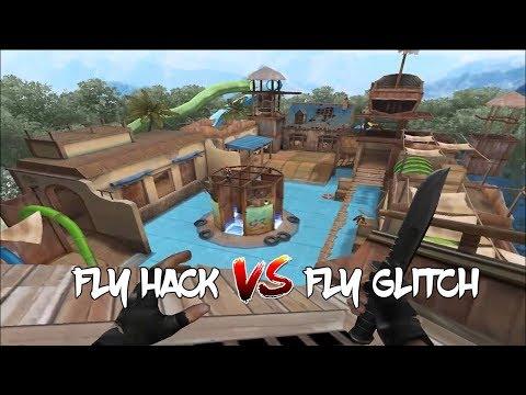 CrossFire - FLY HACK VS FLY GLITCH