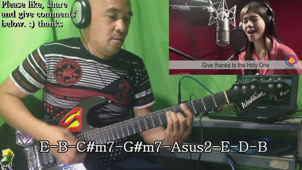 Give Thanks By Janella Salvador Guitar Cover With Chords And Lyrics