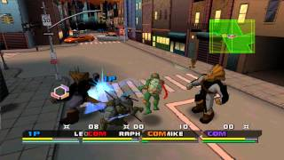 Dolphin Emulator 4.0.2 | Teenage Mutant Ninja Turtles 3: Mutant Nightmare [1080p HD] | GameCube