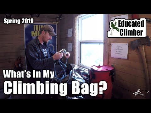 What's In My Climbing Bag?  |  Arborist Climbing Gear Spring 2019