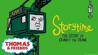 Фото Thomas \u0026 Friends™ | The Story Of Cranky The Crane | NEW | Story Time | Podcast For Kids