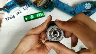 Sửa khoan điện UNISON 240W trượt trục . tưởng không dễ mà dễ không tưởng!😛Unison drill repair 240W