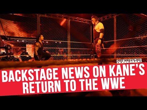Backstage News On Kane's Return