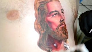 Color Portrait Tattoo by David Castillo (Part 2)