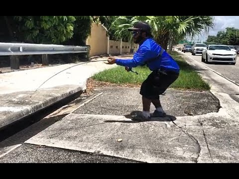 Catching BIG FISH in SEWER!!! Part 2