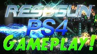 Best PS4 Game? - Resogun PS4 1080p HD - PS4 Free Playstation plus game (Resogun Graphics)
