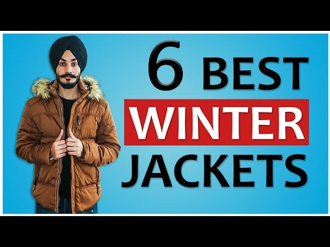6 Best Winter Jackets | Winter Fashion Outfit Ideas