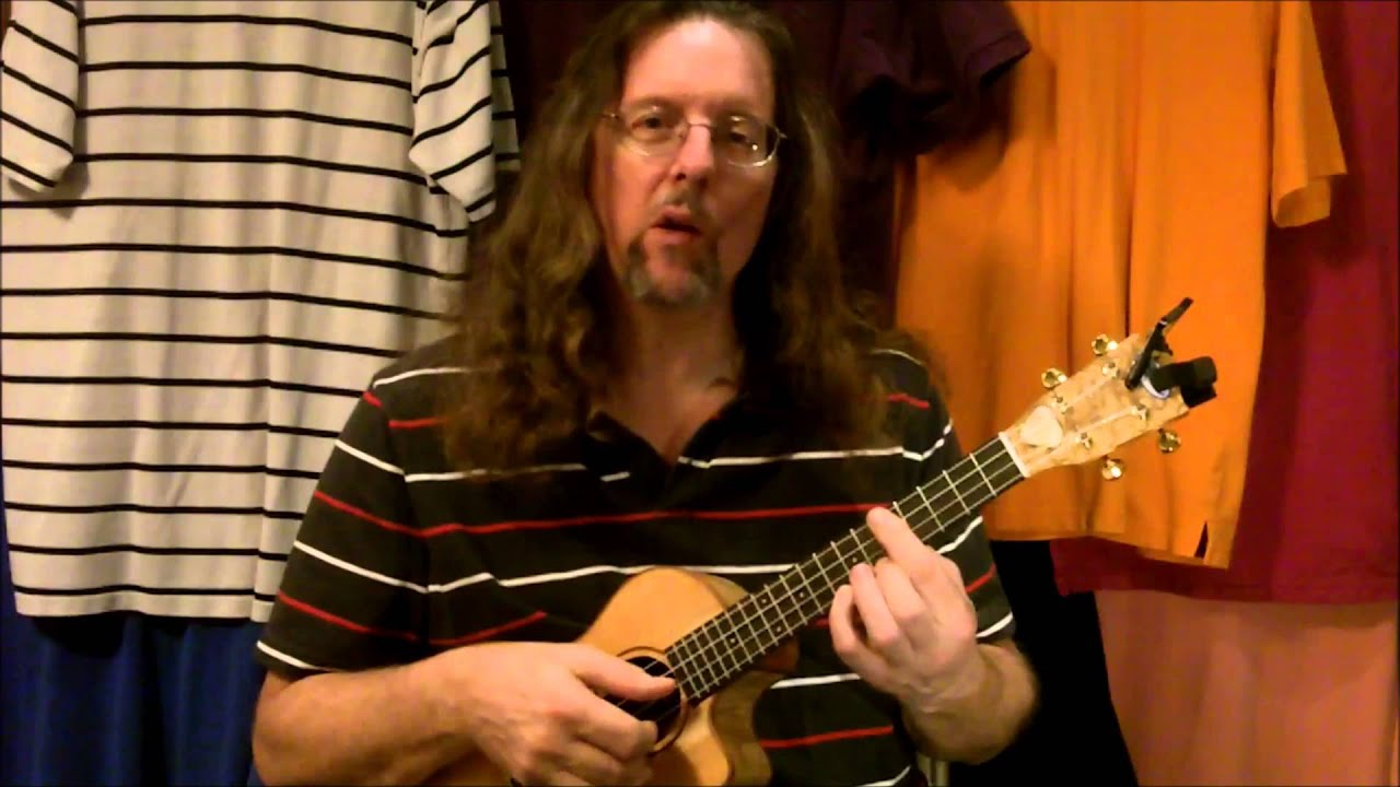 Chord Melody Uke Lessons Hi G Song Sung Blue Youtube