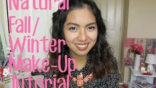 Natural Fall/Winter Make Up Tutorial Thumbnail