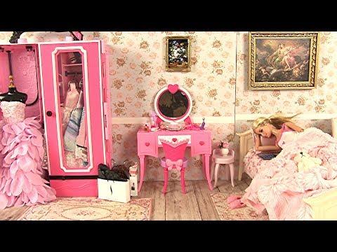 Barbie Bedroom Morning Routine • Barbie Glam Vanity