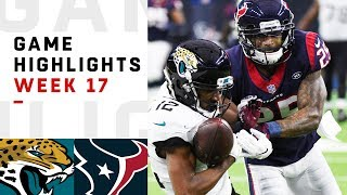 Jaguars vs. Texans Week 17 Highlights