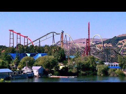 All Former Roller Coasters Of Six Flags Discovery Kingdom