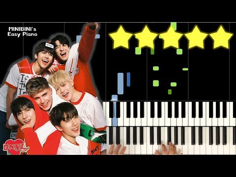 NCT DREAM X HRVY - Don't Need Your Love 《MINIBINI EASY PIANO ♪》 ★★★★★ [Sheet]