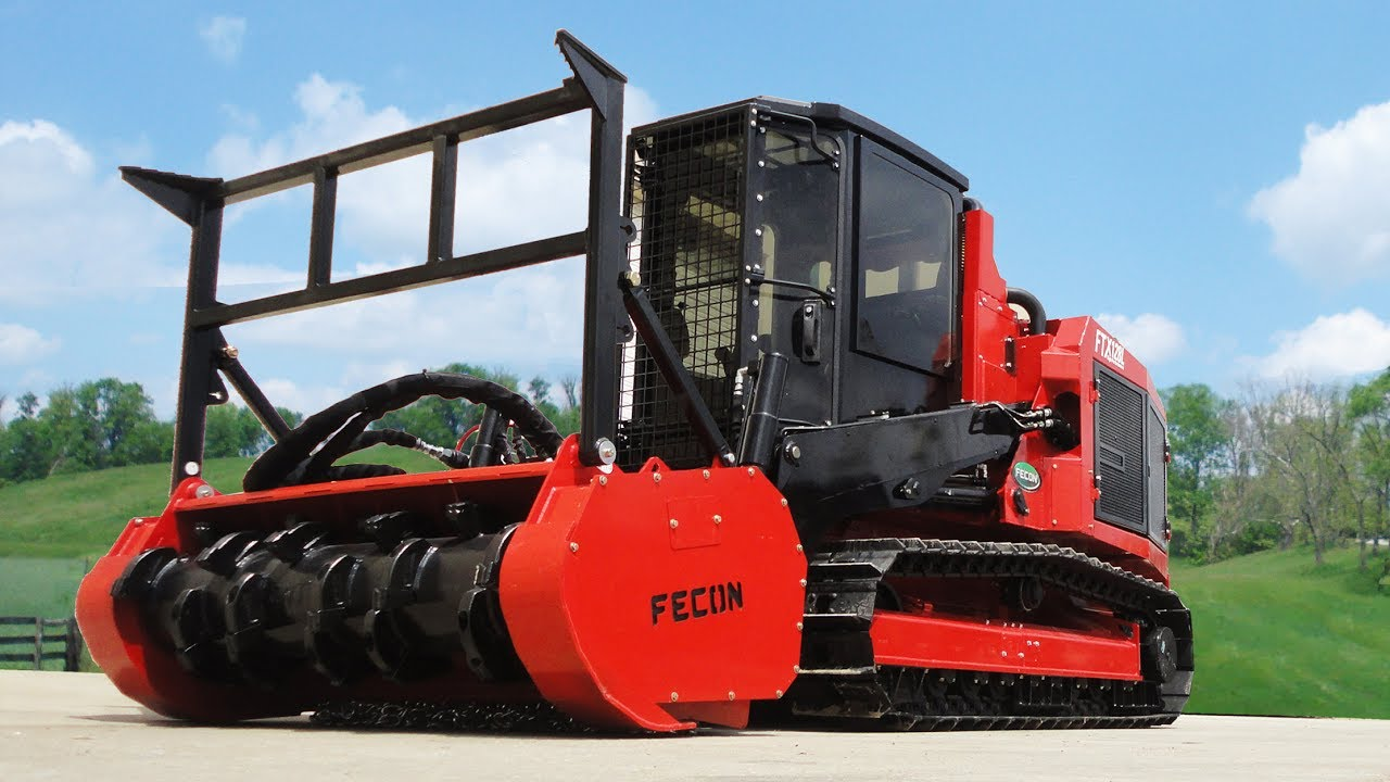 Fecon's FTX128L MULCHING TRACTOR for Rent in New Jersey, New York & Delaware