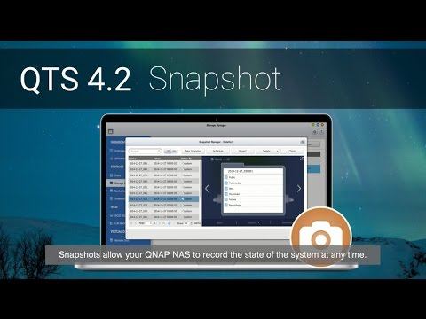 [QTS 4 2] Easily create and revert Snapshots on QNAP NAS