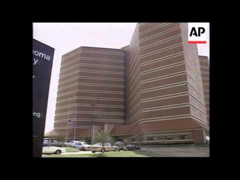 USA: OKLAHOMA CITY BOMBING: TIMOTHY MCVEIGH APPEARS IN COURT