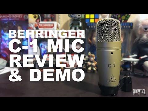 Behringer C-1 Condenser Mic Review / Test