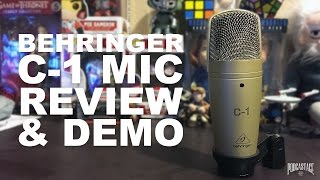 Behringer C-1 Condenser Mic Review / Test
