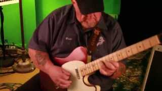 Grammatico Amps Kingsville demo by Redd Volkaert with a Hahn Telecaster style guitar