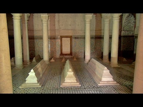 Tombeaux Saadiens – Saadian Tombs, Marrakech, Morocco