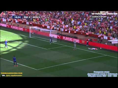 Emirates Cup 2014 (ARSENAL FC vs AS MONACO)