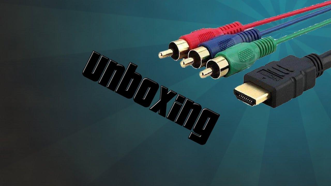 Unboxing Cable Adaptador Hdmi A Componente Para El Xbox