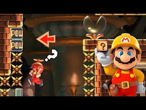 Un Inicio Muy Ingenioso ! - TOP Super Expertos   Super Mario Maker