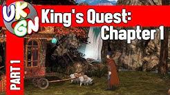 Kings Quest: Chapter 1 - All Achievements / Trophies Walkthrough Part 1